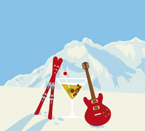 Ski & Concert in Warth